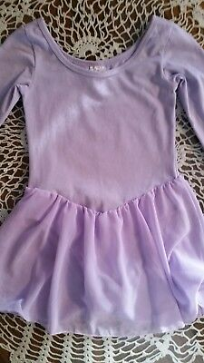 Little Girls Dance Outfit, Size Medium 7/8, Made By Iefiel