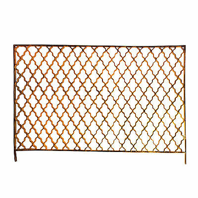 Antique Geometric Ironwork Panel, NG21