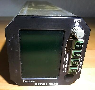 Eventide Argus 3000 P/N 3000-00-00 moving map display guaranteed 30 days