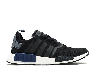 753a7619063 Adidas NMD R1 Black Blue Tab Mesh Size 12.5. S76841 yeezy ultra boost pk 12