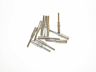 25 Deutsch DT #16 Solid Contact Terminals male pins for 16-18-20 gauge wire