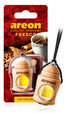 Car Air Freshener Liquid Bottle Hanging Scent Coffee Natural Perfume Fragrance