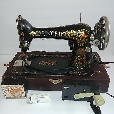 VINTAGE SINGER SEWING Machine G40 Rochester NY 40 Antique W Enchanting 1910 Singer Sewing Machine For Sale