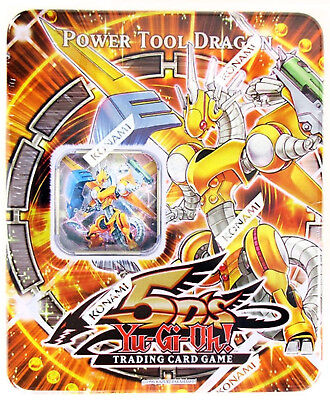 2009 Yugioh TCG 5D's Power Tool Dragon Collectible Tin (Factory Sealed)