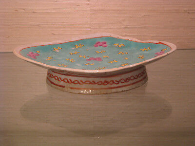 Chinese Tongzhi Period Ground Porcelain Footed Dish
