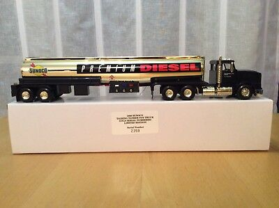 1998 Sunoco Talking Toy Truck Gold Serial Numbered Limited Edition