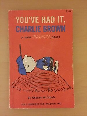 (1st Edition) You've Had It, Charlie Brown - Charles M. Shulz