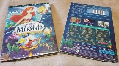 The Little Mermaid (DVD, 2006, 2-Disc Set, Platinum Edition) BRAND NEW FREE SHIP