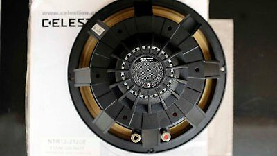 "1 Pair - Celestion NTR10-2520E 10"" 250W 8 Ohm PROFFESIONAL AUDIO SPEAKERS"