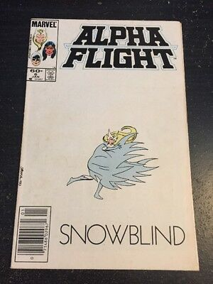 Alpha Flight#6 Incredible Condition 8.5(1985) Byrne Art