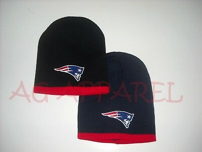 New England Patriots Winter Short Beanie Skull Cap Hat Pick Your Color/Style New