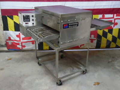 Middleby Marshall PS520E Electric Conveyor Pizza Oven with Stand Barely Used