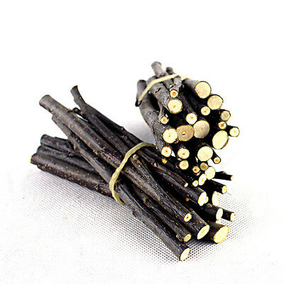 50g Apple Wood Bar Chew Stick Twig for Small Pet Rabbit Rat Hamster Exercise Toy