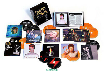 "David Bowie CD ""Five Years 1969-1973"" 12 CD Box Set Collection Free shipping"