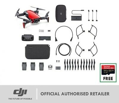 DJI MAVIC AIR Fly More Combo BLACK or WHITE In Stock | FREE 64GB Sandisk MicroSD