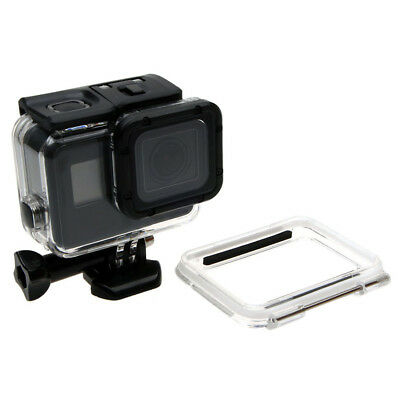 60M Underwater Housing Case + Hollow Back Cover for GoPro Hero 6/5 Black Camera