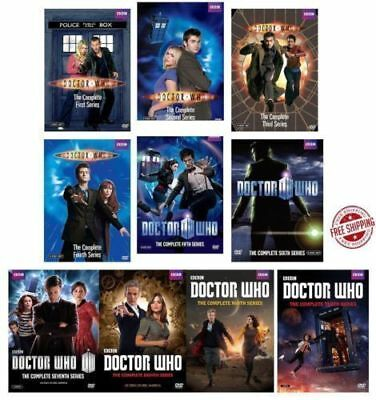 DOCTOR WHO: The Complete Series Season 1-10 1 2 3 4 5 6 7 8 9 10 DVD 55-Disc)New