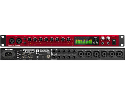 Focusrite Clarett 8 Pre - Interfaccia Audio Thunderbolt 18In/20Out