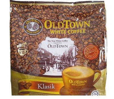 *NEW* Malaysia OLDTOWN OLD TOWN INSTANT White Coffee 3 in 1 CLASSIC 15 x 40g
