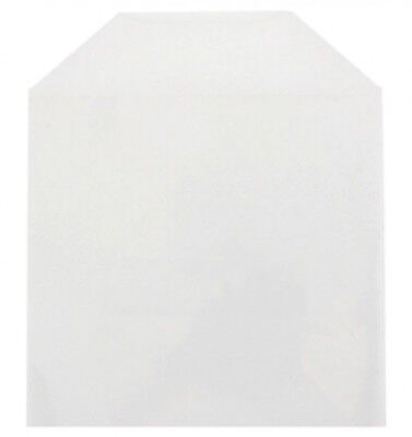 5000 CPP Clear Plastic Sleeve with Flap  (No Stitches)