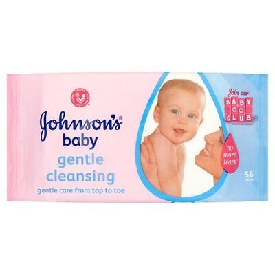 Johnson's Baby Extra Sensitive Fragrance Free 56 Wipes