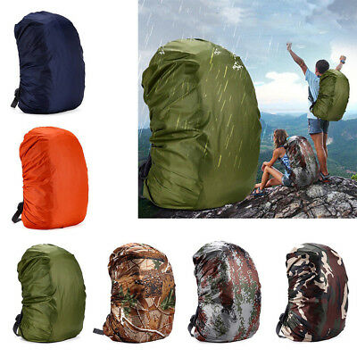 Outdoor Sports 35-80L Portable Waterproof Backpack Bag Rain Cover for Travel AU