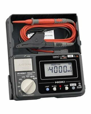NEW SANWA IR4051-11 5 Range Digital Insulation Resistance Meter w/ Switch Lead