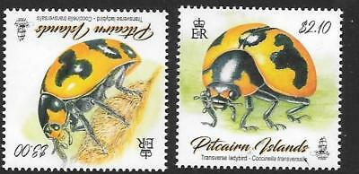 Pitcairn Islands 2017 Ladybirds  Mnh
