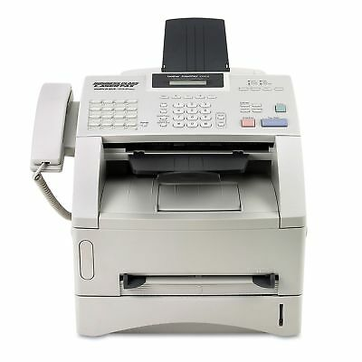 New Brother IntelliFAX 4100e Business Class Monochrome Laser Fax Copier 8 MB
