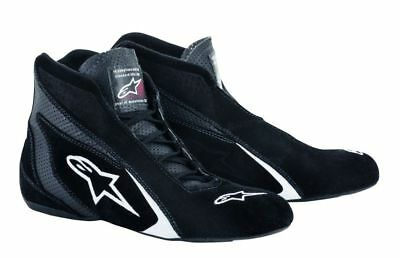 FIA ALPINESTARS kart racing shoe SP SHOE BLACK/WHITE flame resistant NEW 2018
