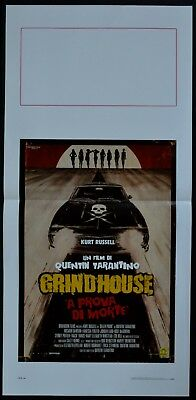 locandina GRINDHOUSE QUENTIN TARANTINO RODRIGUEZ RUSSELL  HORROR AUTO CAR