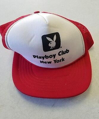 Vintage Playboy Club Red Hat New York City