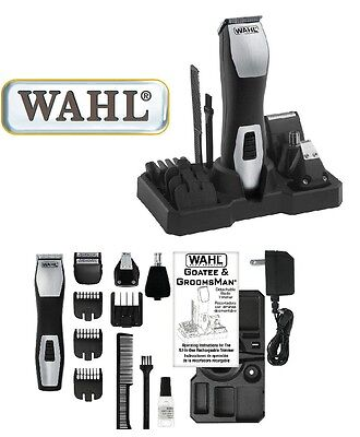 Wahl Groomsman Professionnel, Corps Trimmer Tondeuse à Barbe 42484