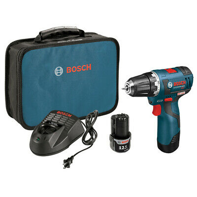Bosch 12V MAX Li-Ion 3/8 in. Brushless Drill Driver Kit PS32-02 Recon