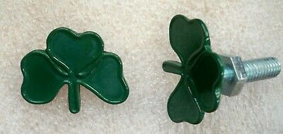 Shamrock license plate bolts
