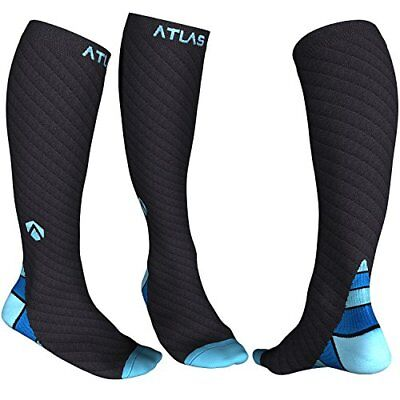 Compression Socks for Men & Women - Atlas Support Sock - Ideal for Running,