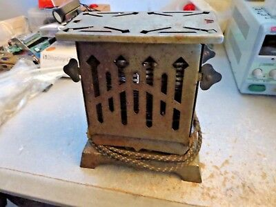 ELECTRIC APPLIANCE Antique TOASTER Chrome ART DECO 1931