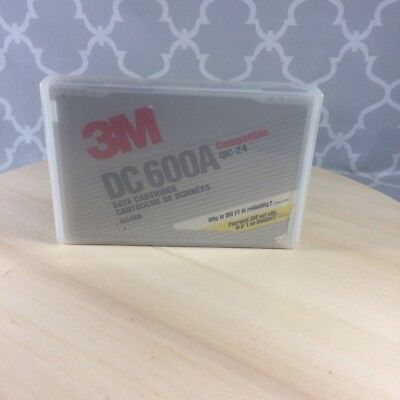 3M DC 600A Data Cartridge 60 MB NOS (NEW) Free Shipping