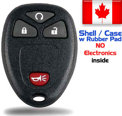 1x New Replacement Keyless Key Fob For Cadillac Chevrolet GMC Buick - Shell Only