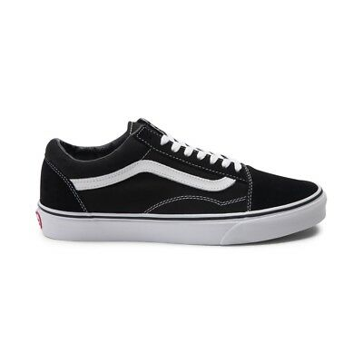 Vans Old Skool CANVAS Black/White Skateboarding Shoes Classic 60