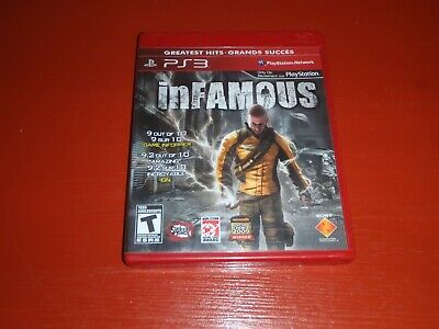 inFamous (Sony PlayStation 3, 2009) -PS3 Complete