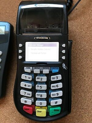 Hypercom Equinox T4220 Credit Card Terminal & Pin Pad S1300 PARTS ONLY