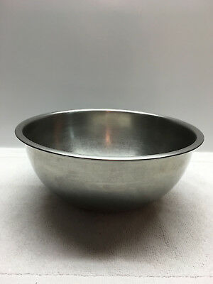 VINTAGE VOLLRATH Stainless Steel 3 1/4 Qt Mixing Bowl 6903 Usa ...