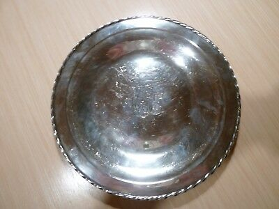"""TOWLE Sterling Silver 10"""" Plate"""