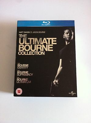 The Ultimate Bourne Collection - Trilogy - 3 Blu-Ray - Spanish English