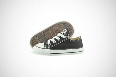 a35440d68d29 CONVERSE ALL STAR Ox Toddler Shoes Black White  31 F -  27.99