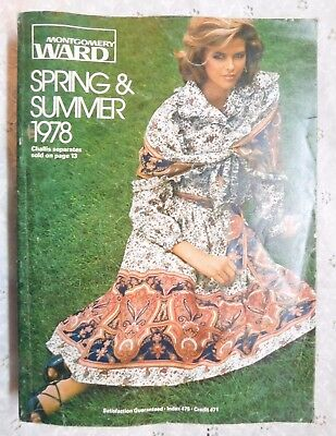 Montgomery Ward Catalog 1978 Spring Summer Clothes  Shoes, Helmets Etck