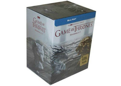 Game of Thrones Seasons 1-7 Complete Box Set (Blu-Ray) 1 2 3 4 5 6 7 BRAND NEW