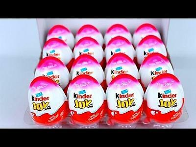 Box of 24 GIRLS Chocolate Kinder Joy Surprise Eggs New Series MINNIE MOUSE