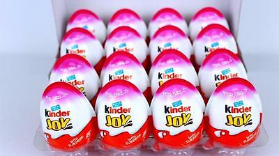 Box of 8 GIRLS Chocolate Kinder Joy Surprise Eggs New Series MINNIE MOUSE